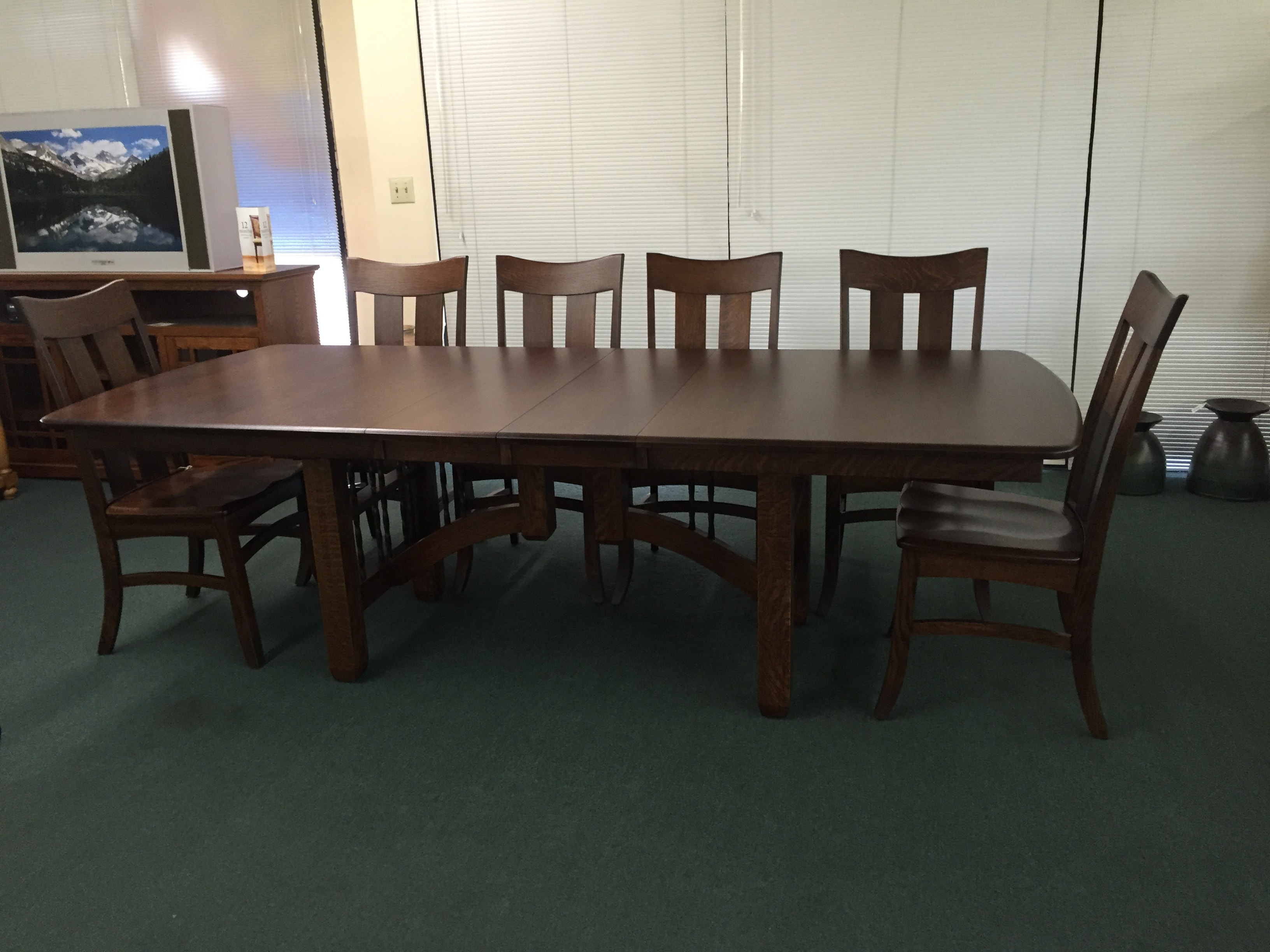 We Offer Fresno U0026 Clovis Resodents An Almost Unlimited Selection Of Solid  Wood, American Made Dining Tables In Your Choice Of Hardwoods, Including:  Oak, ...